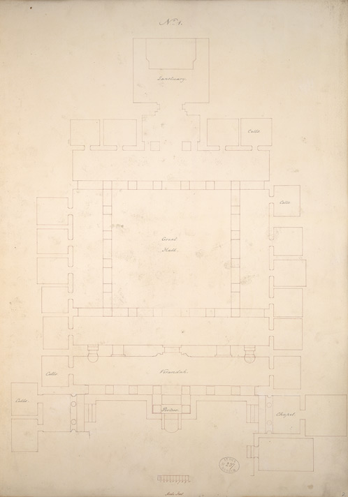 Ground Plans of the Ajanta Caves  f.2